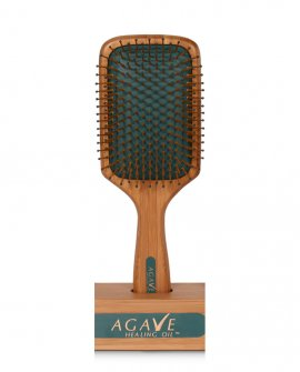 Spazzola Piatta Bamboo Paddle Bio ionic Agave